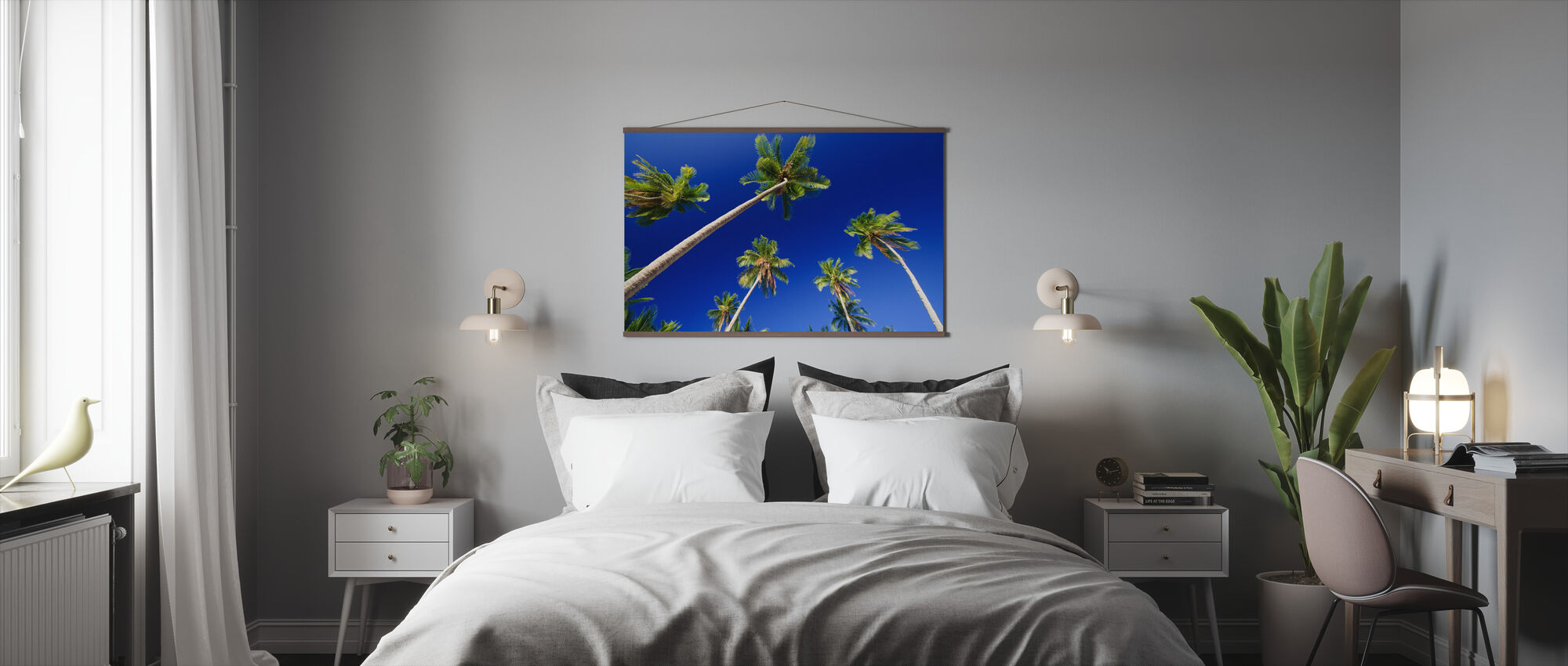 Palm Paradise - Poster - Bedroom