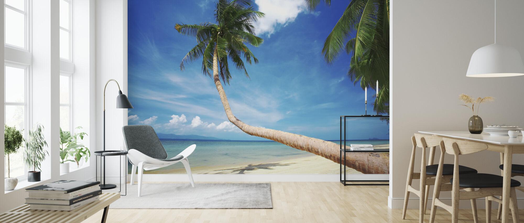 Palm og lykke - Tapet - Stue