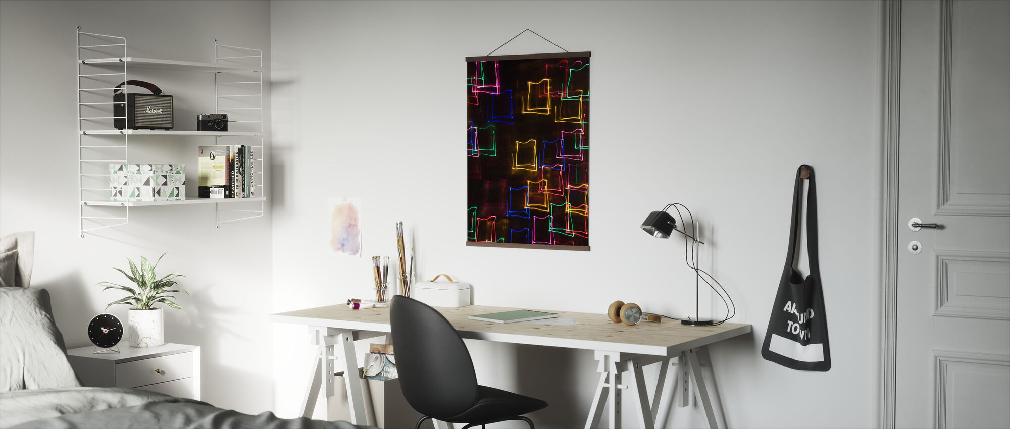 Motion Blur Light - Poster - Office
