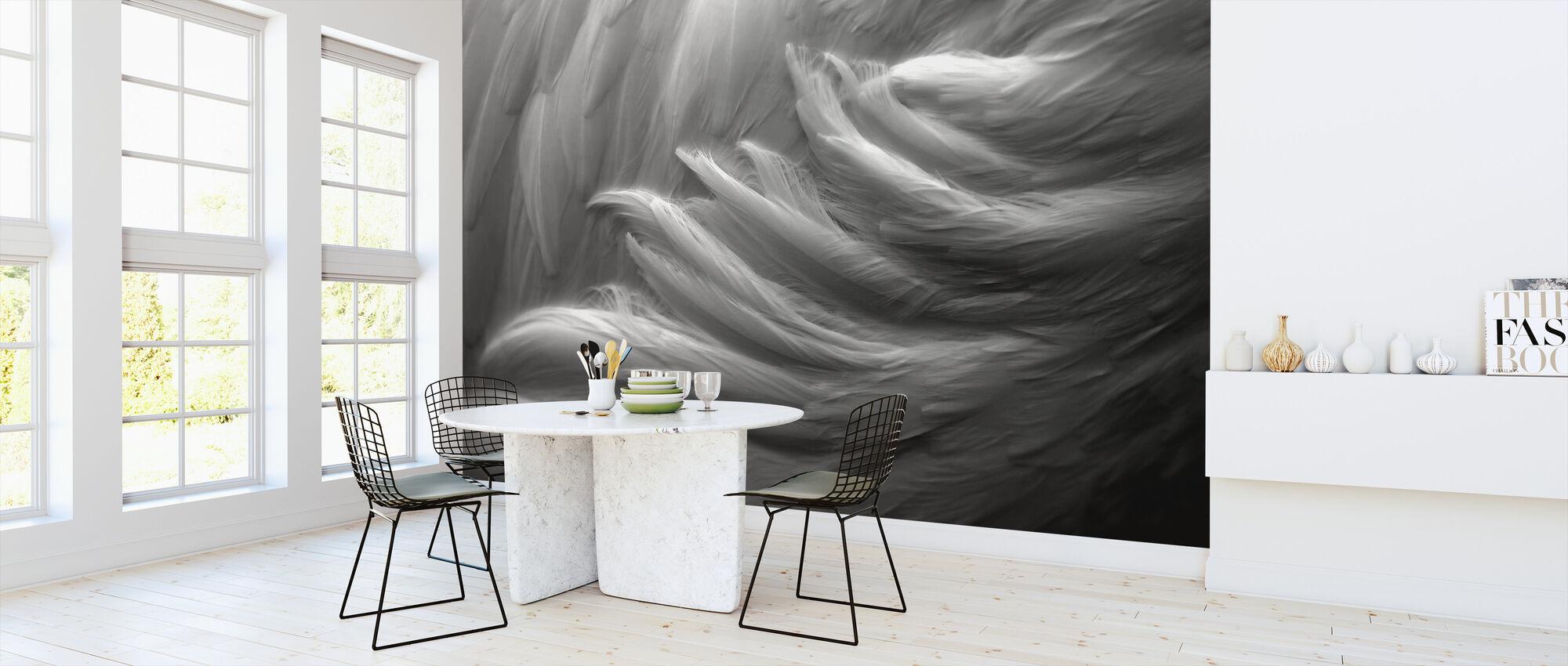 Feather - Wallpaper - Kitchen
