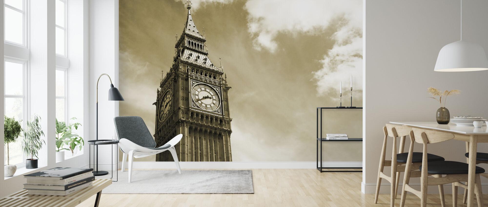 Big Ben, Londyn, Wlk. Brytania - Tapeta - Pokój dzienny