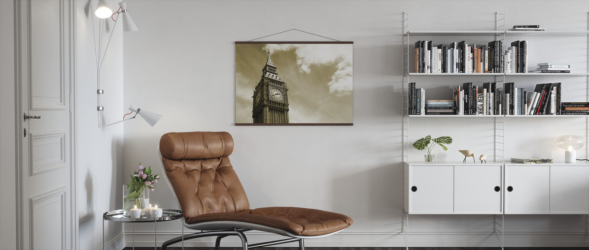 Big Ben, London, UK - Poster - Living Room