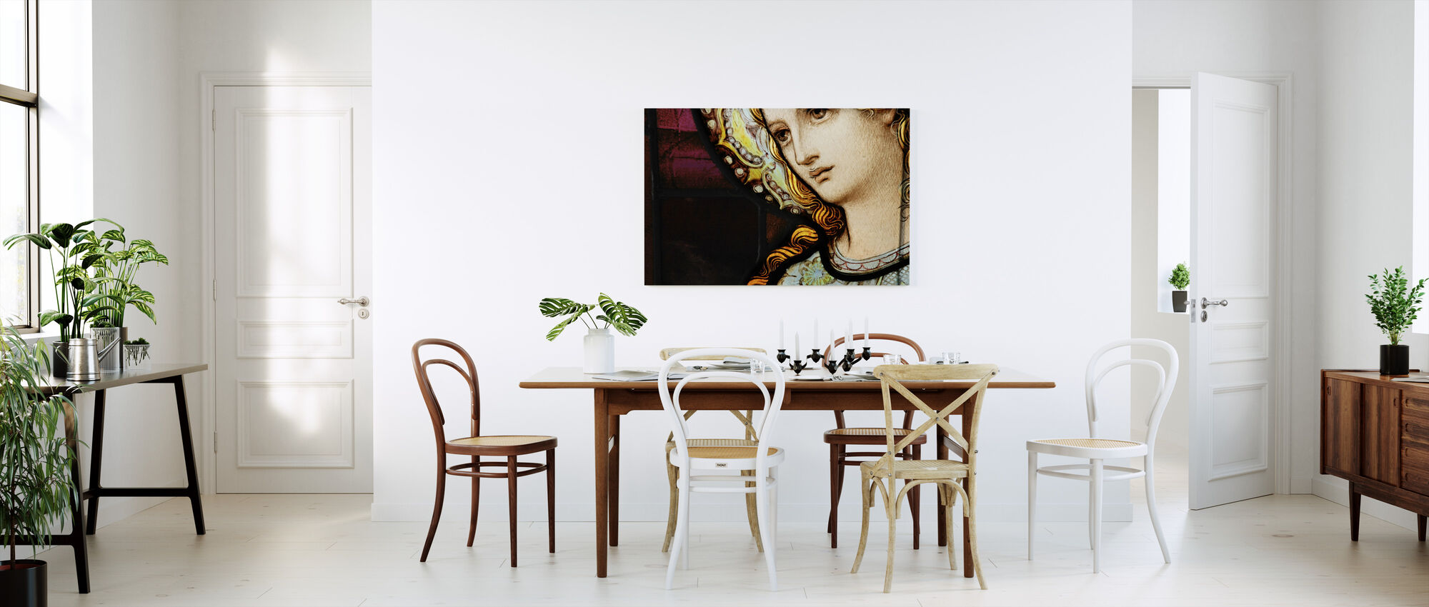Mother Mary - Canvas print - Kitchen