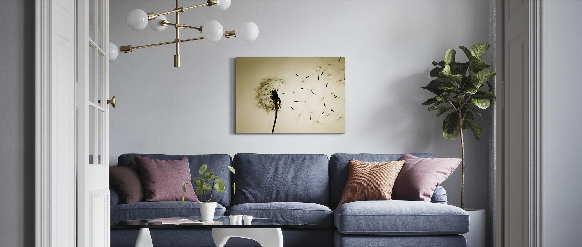 Löwenzahn - Leinwandbild - Wohnzimmer
