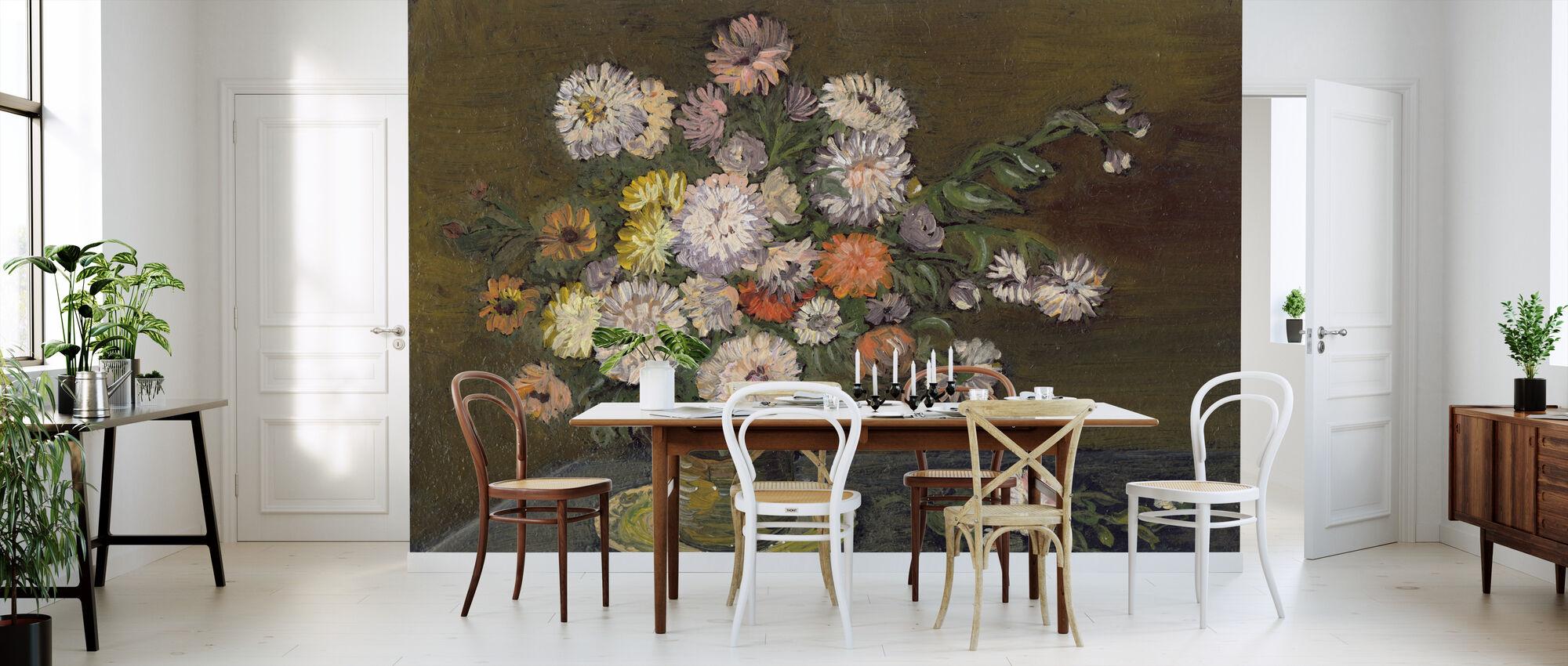 flower arrangement fototapete nach ma photowall. Black Bedroom Furniture Sets. Home Design Ideas