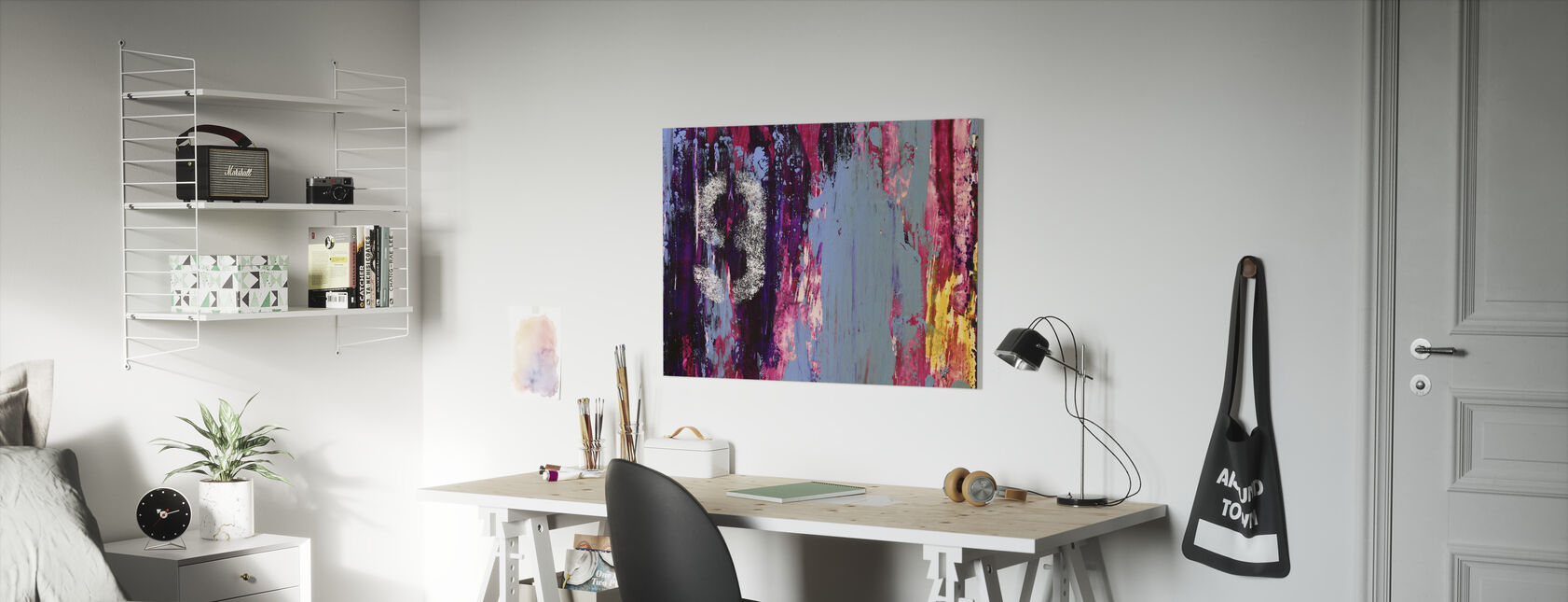 Number Nine - Canvas print - Kids Room