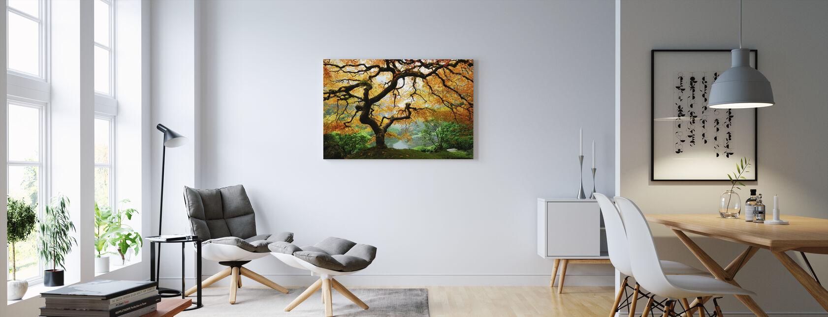Autumn Maple - Canvas print - Living Room