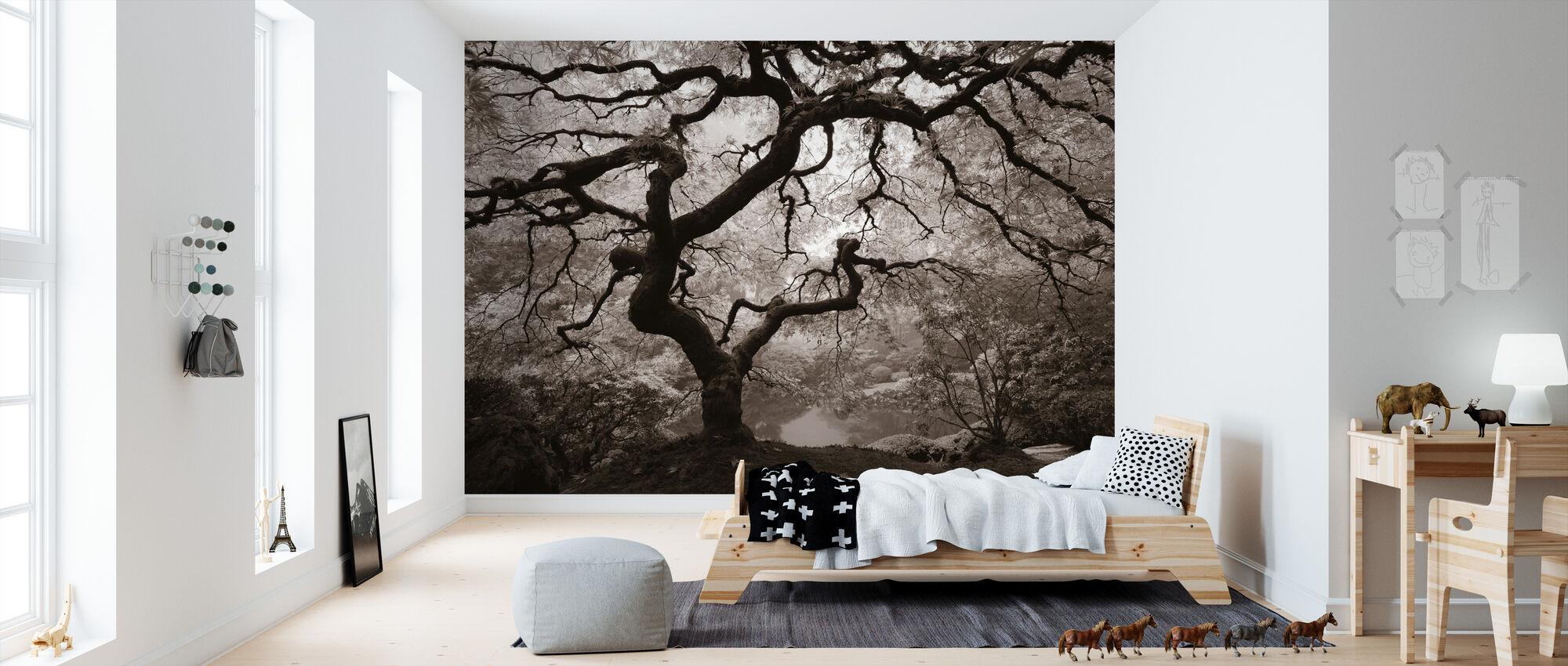 autumn maple fototapete nach ma photowall. Black Bedroom Furniture Sets. Home Design Ideas