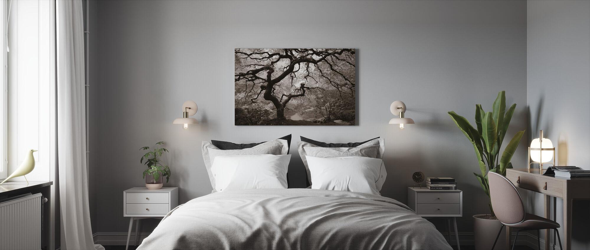 Autumn Maple - Canvas print - Bedroom