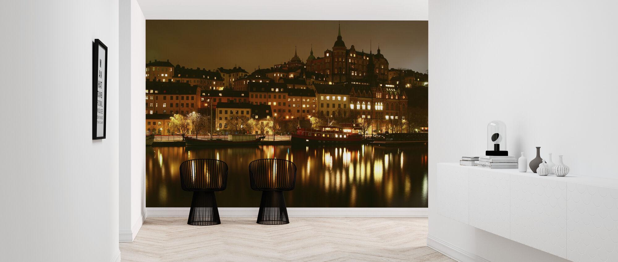 Ljus i Stockholm - Tapet - Hall
