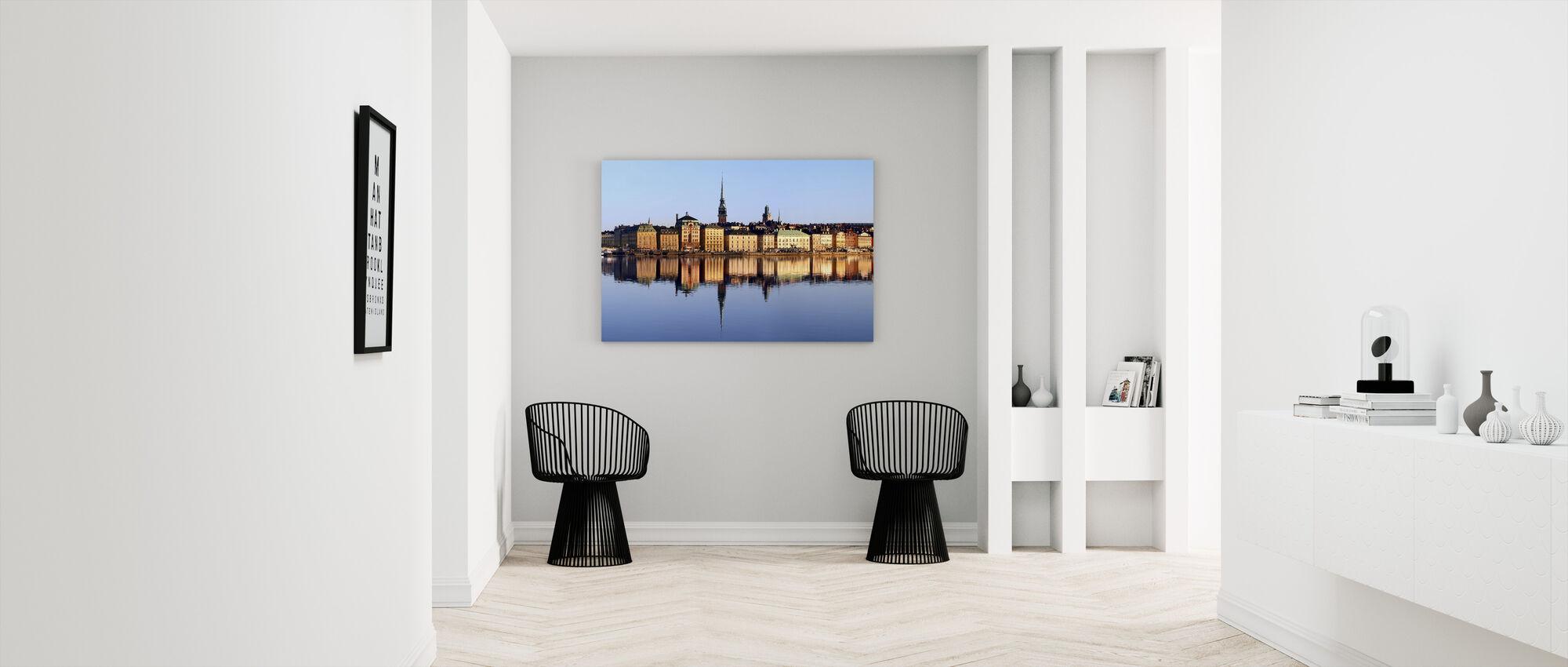 Stockholm Skeppsbron - Canvastavla - Hall
