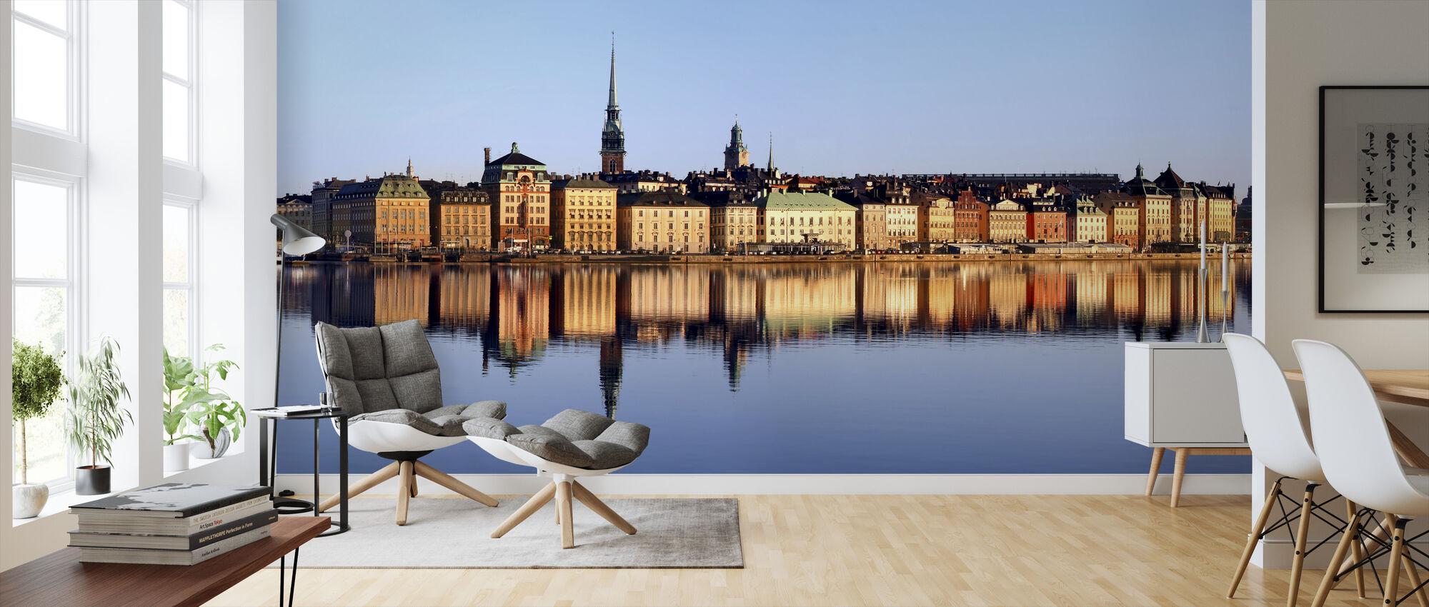 Stockholm Skeppsbron - Tapet - Vardagsrum