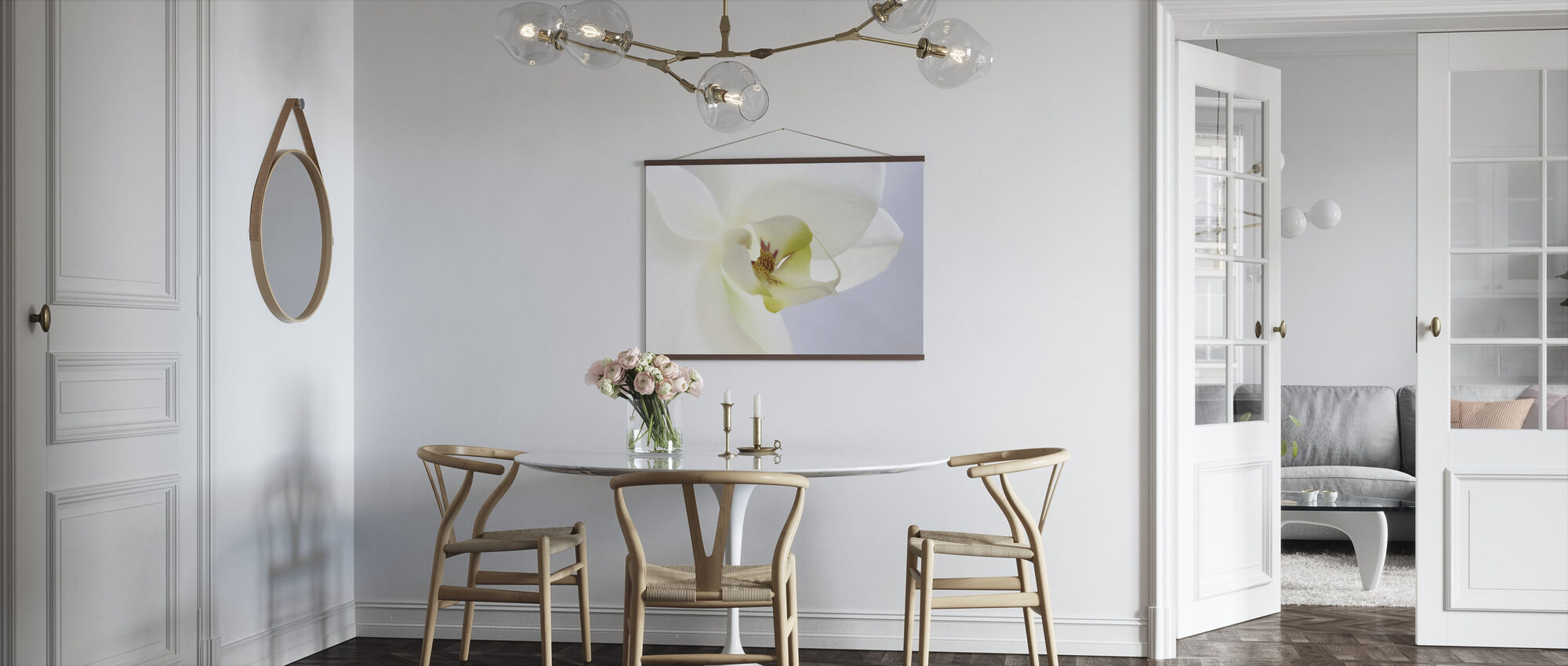 White Orchid - Poster - Kitchen