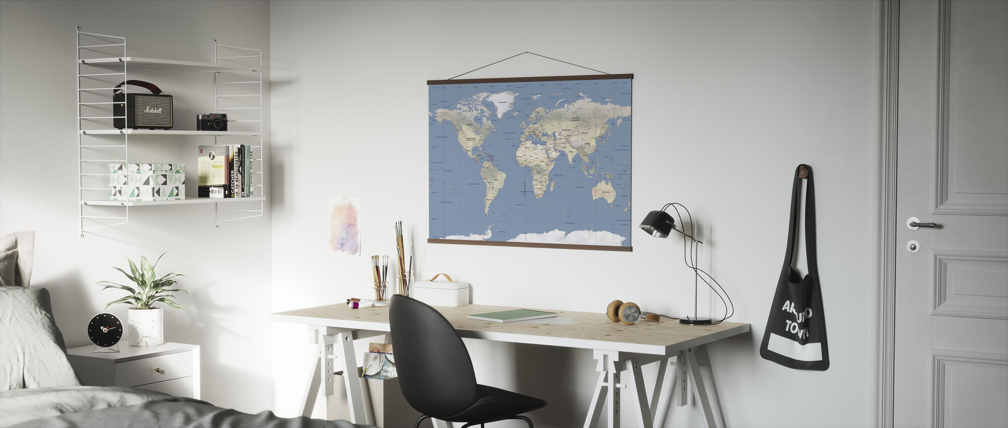 World Map - Poster - Office