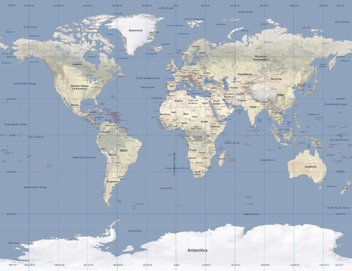 World maps trendy wall murals photowall world map gumiabroncs Image collections