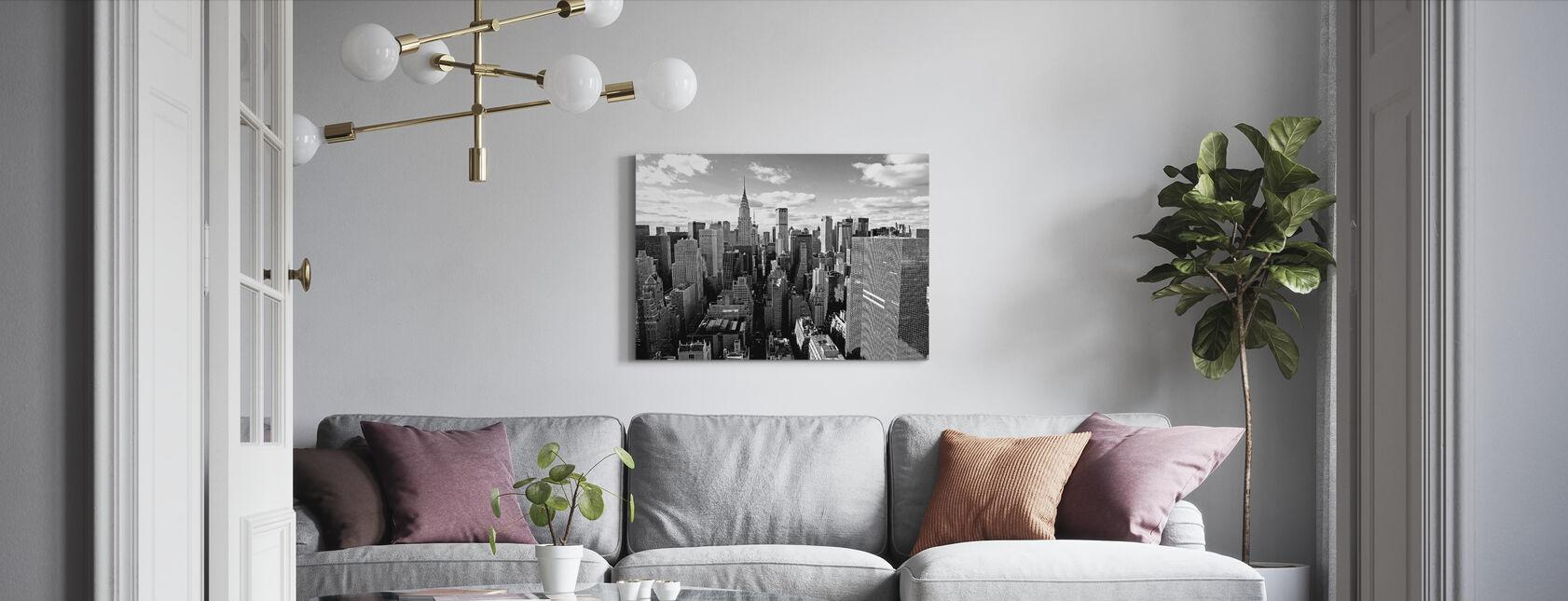 Über Manhattan - Leinwandbild - Wohnzimmer