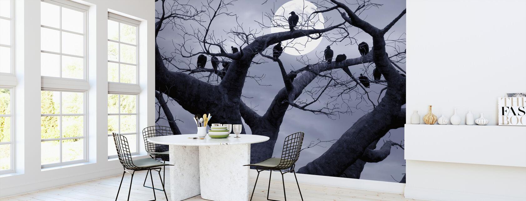 Spookachtige Boom - Behang - Keuken