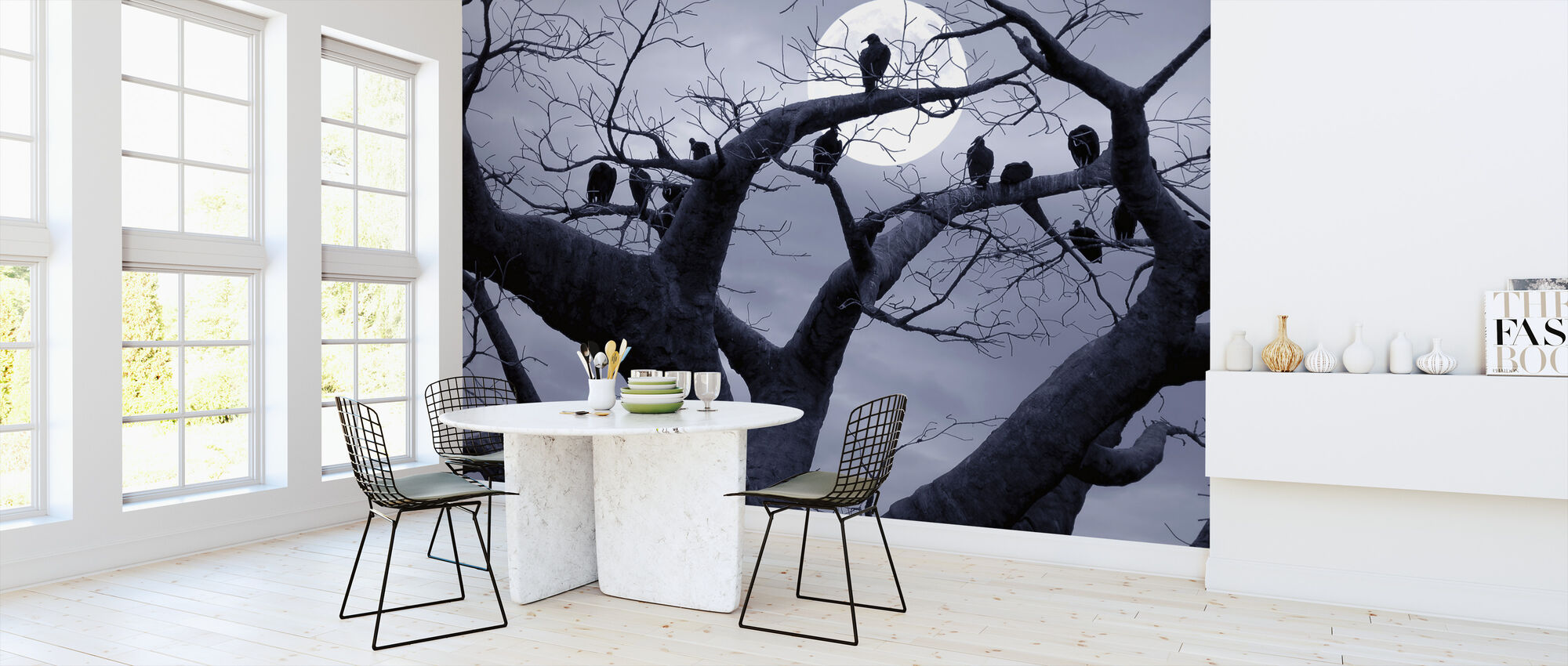 Spooky Tree - Wallpaper - Kitchen