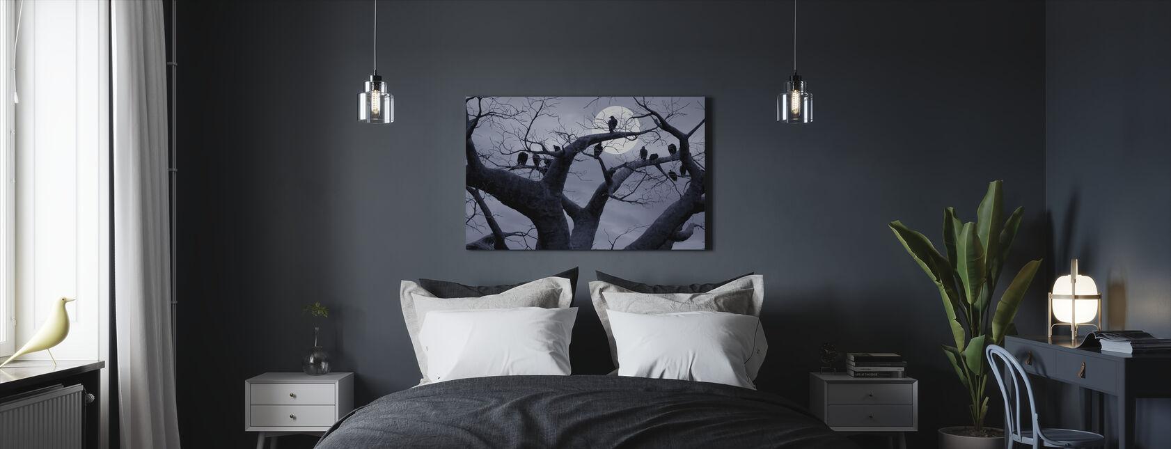 Spooky Träd - Canvastavla - Sovrum