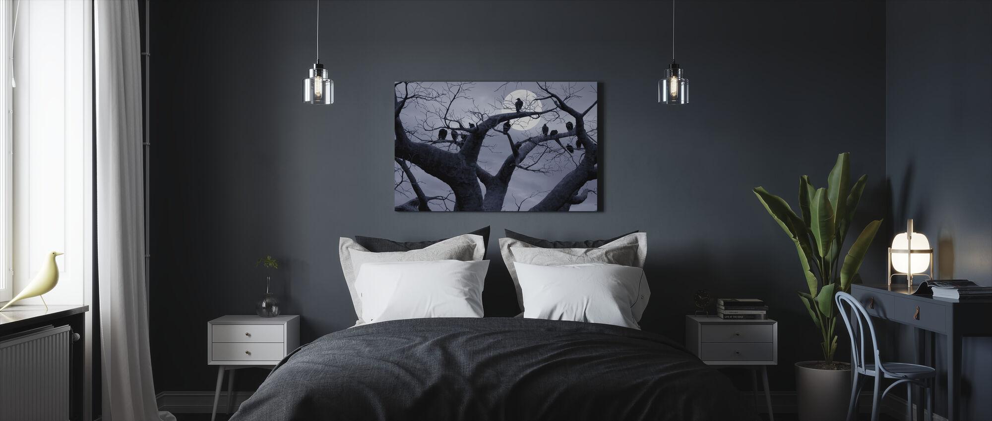 Upiorne drzewo - Obraz na płótnie - Sypialnia