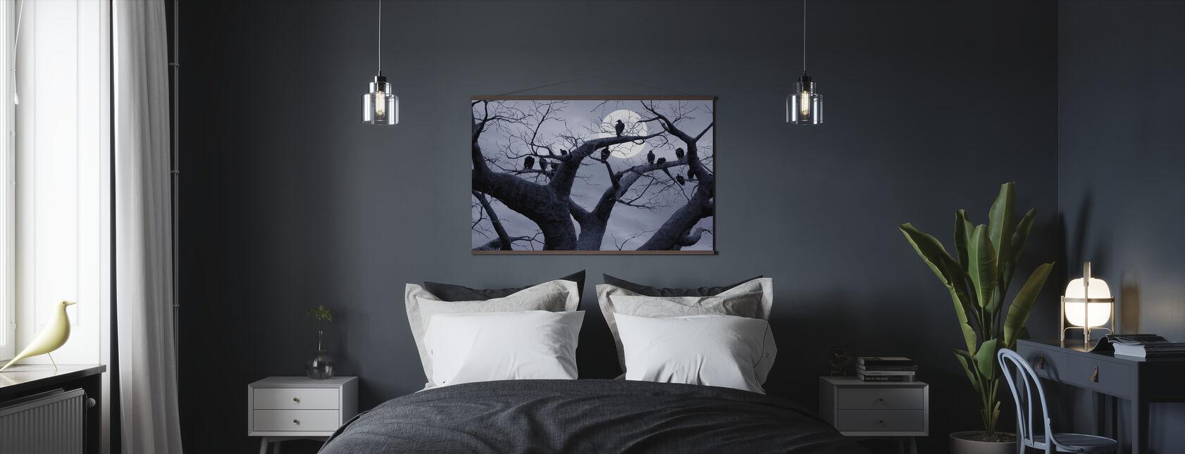 Spookachtige Boom - Poster - Slaapkamer