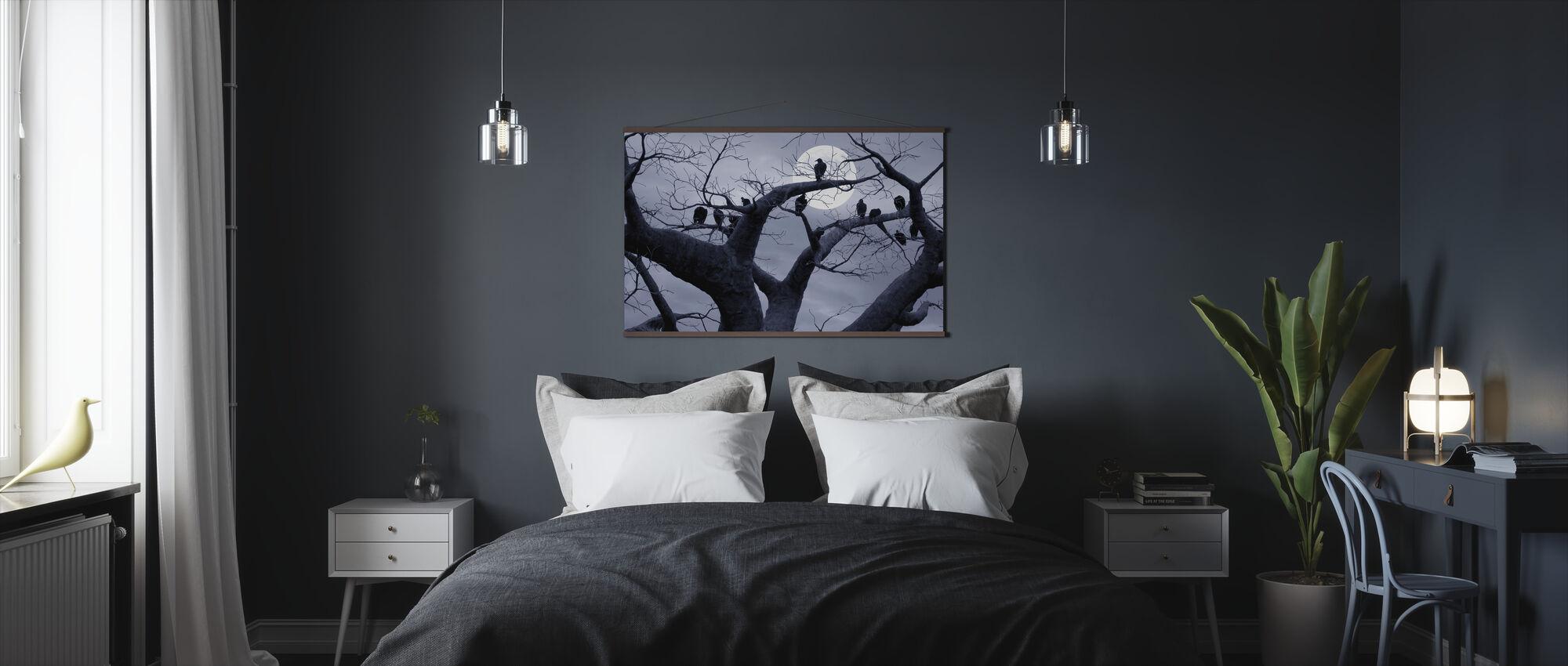 Pelottava puu - Juliste - Makuuhuone