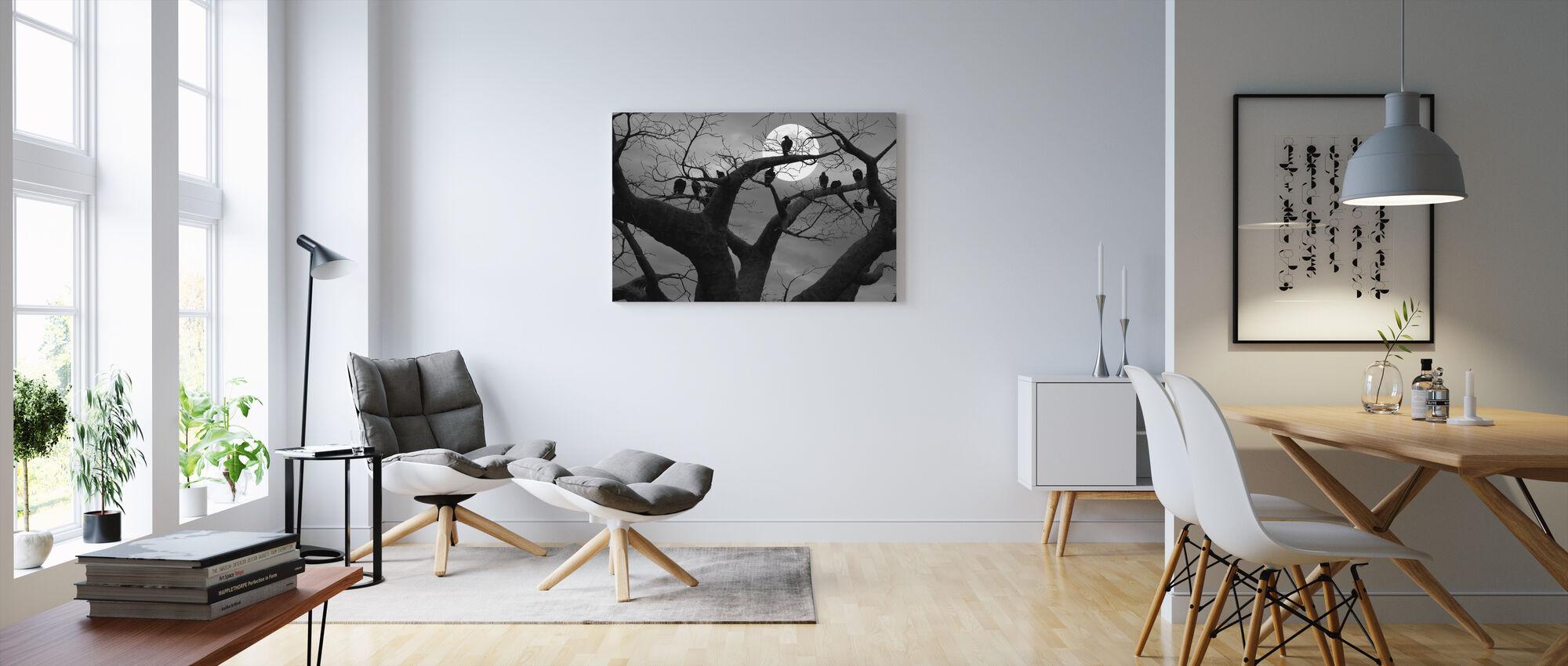 Upiorne drzewo - Obraz na płótnie - Pokój dzienny