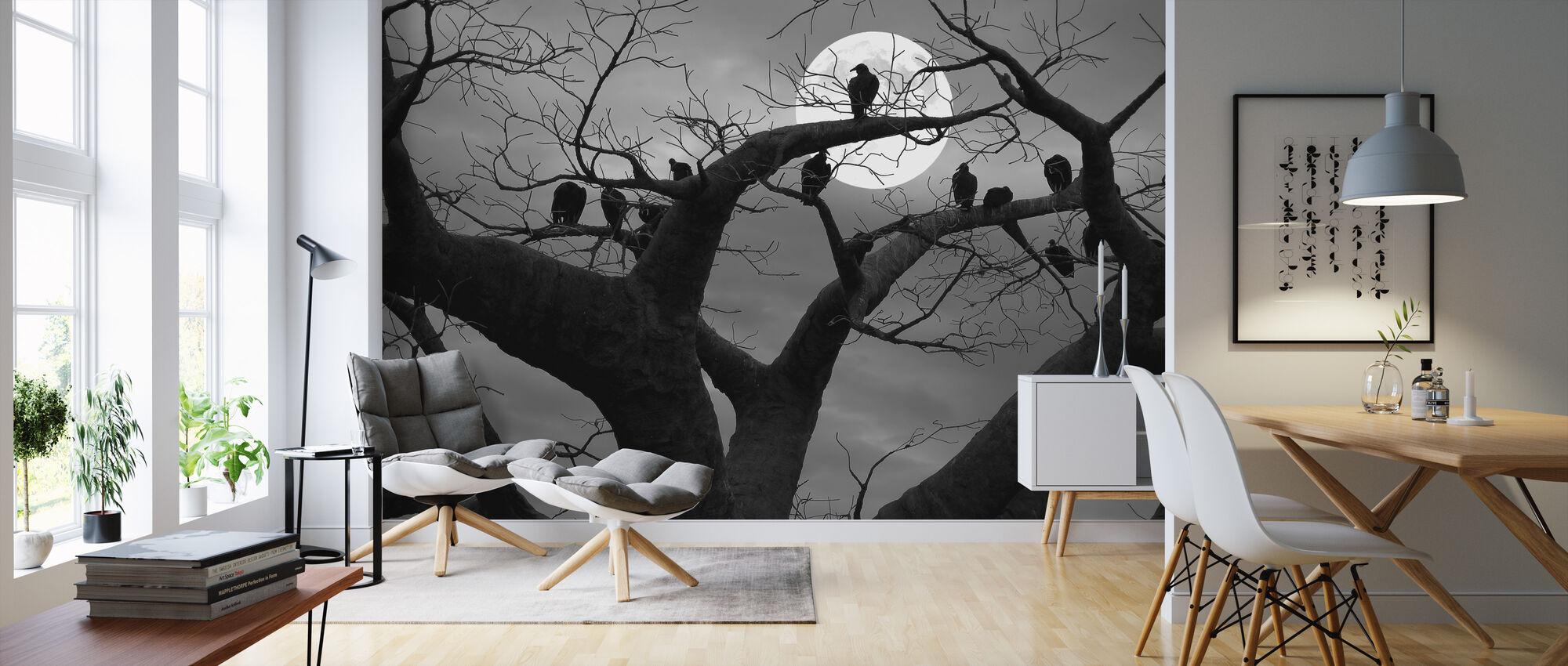 Spooky Tree - Wallpaper - Living Room