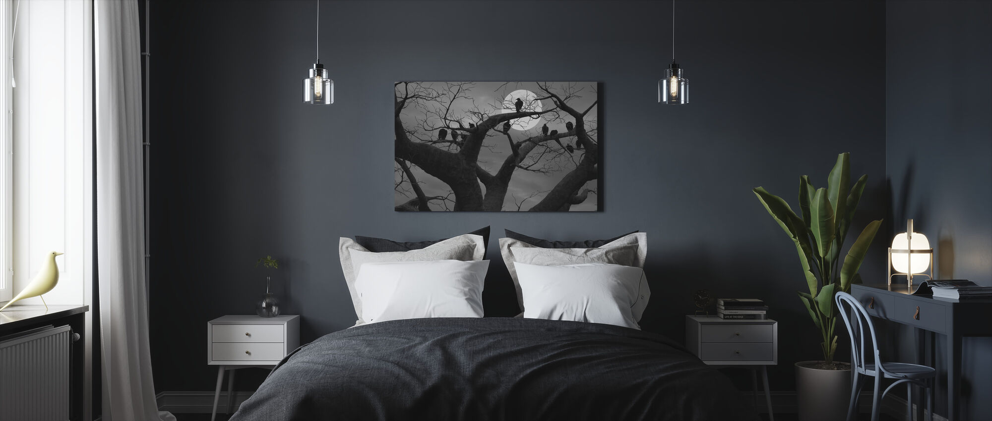Spooky Tree - Canvas print - Bedroom