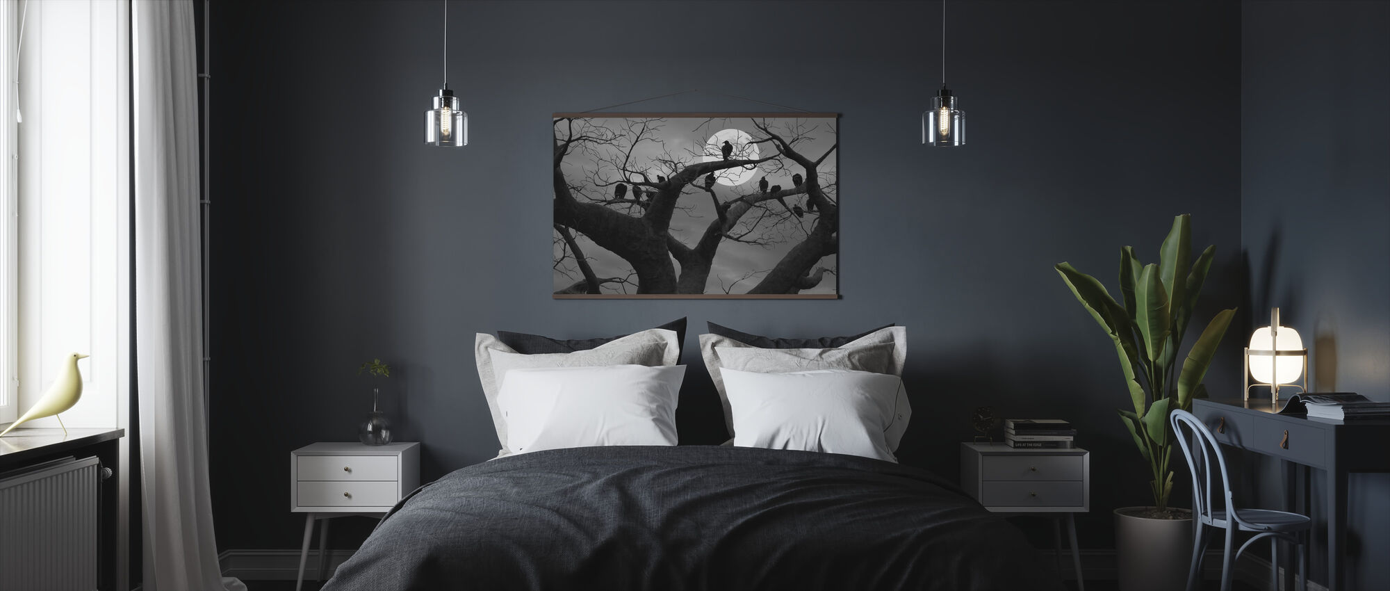Spooky Tree - Poster - Bedroom