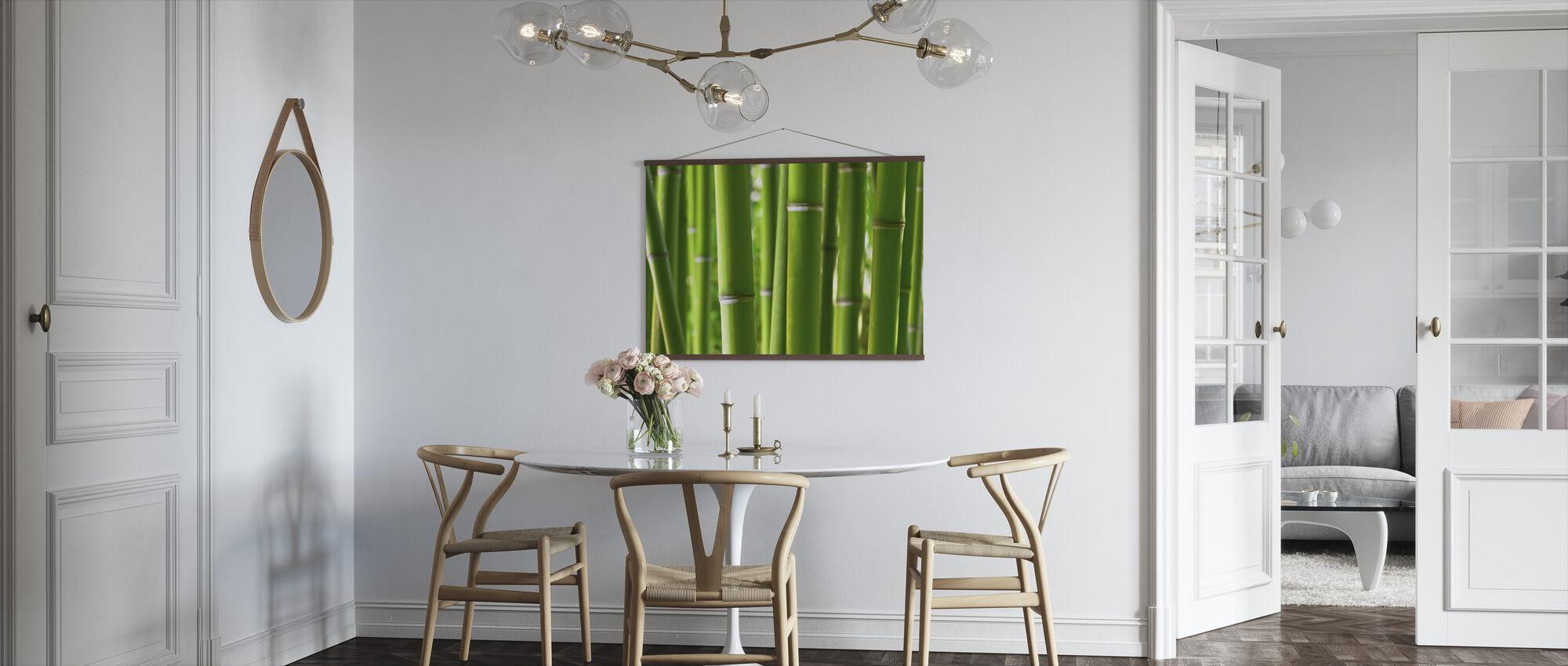 Zen Bamboe - Poster - Keuken