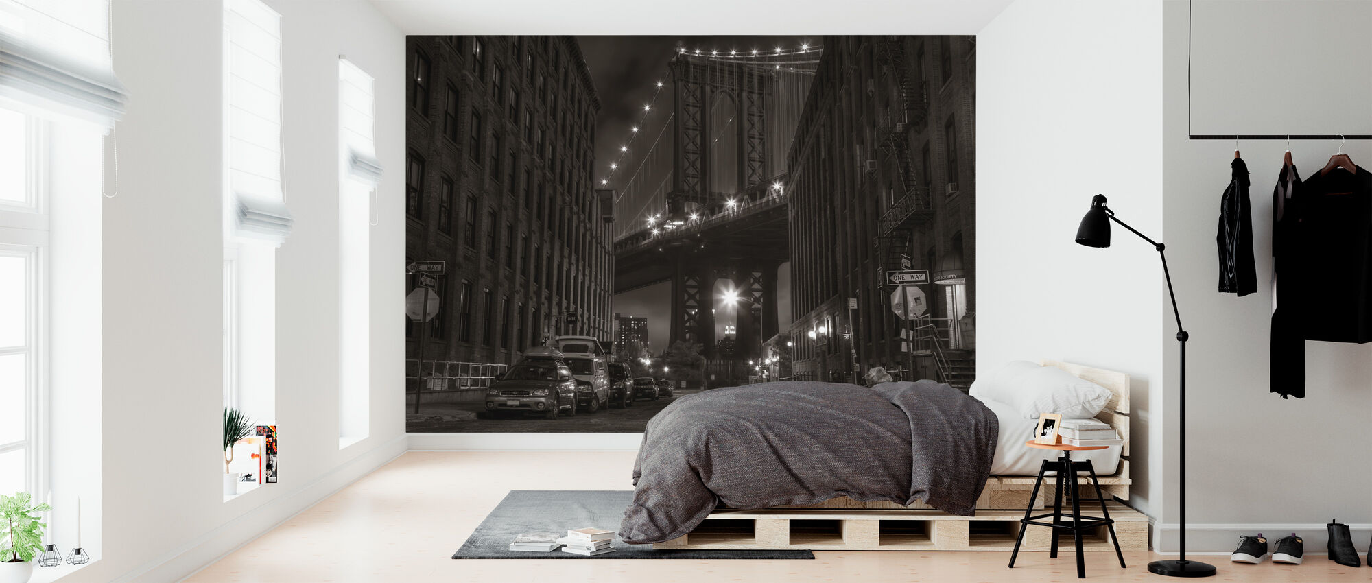 Washington Street, Manhattan, New York - Wallpaper - Bedroom