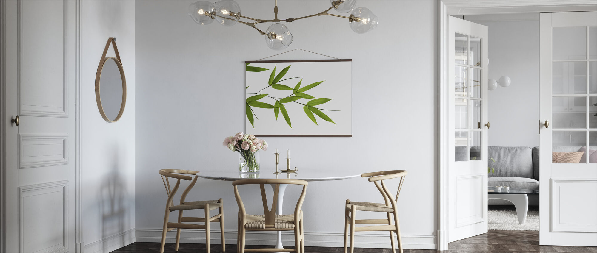 Bamboo Leaves - Poster - Kitchen