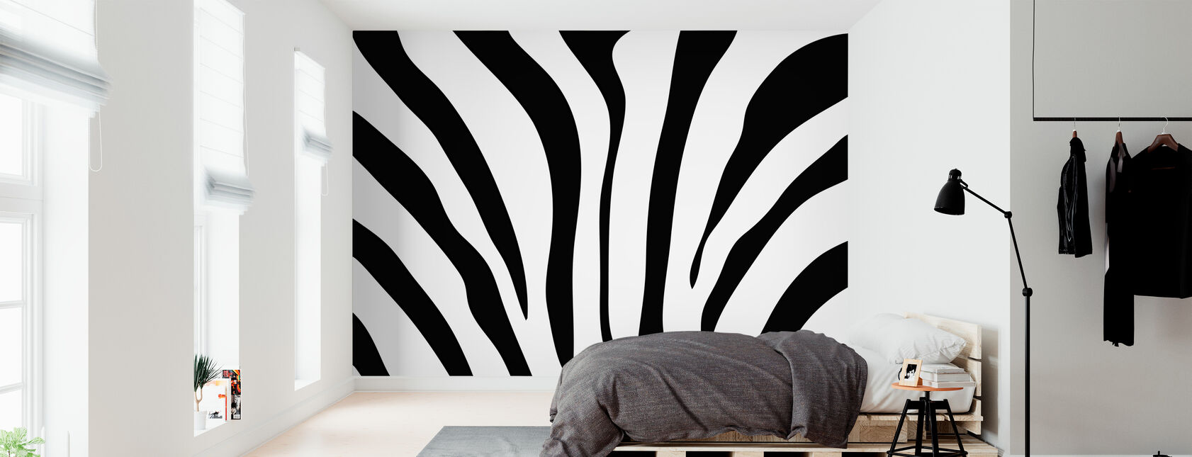 Zebra Texture - Wallpaper - Bedroom