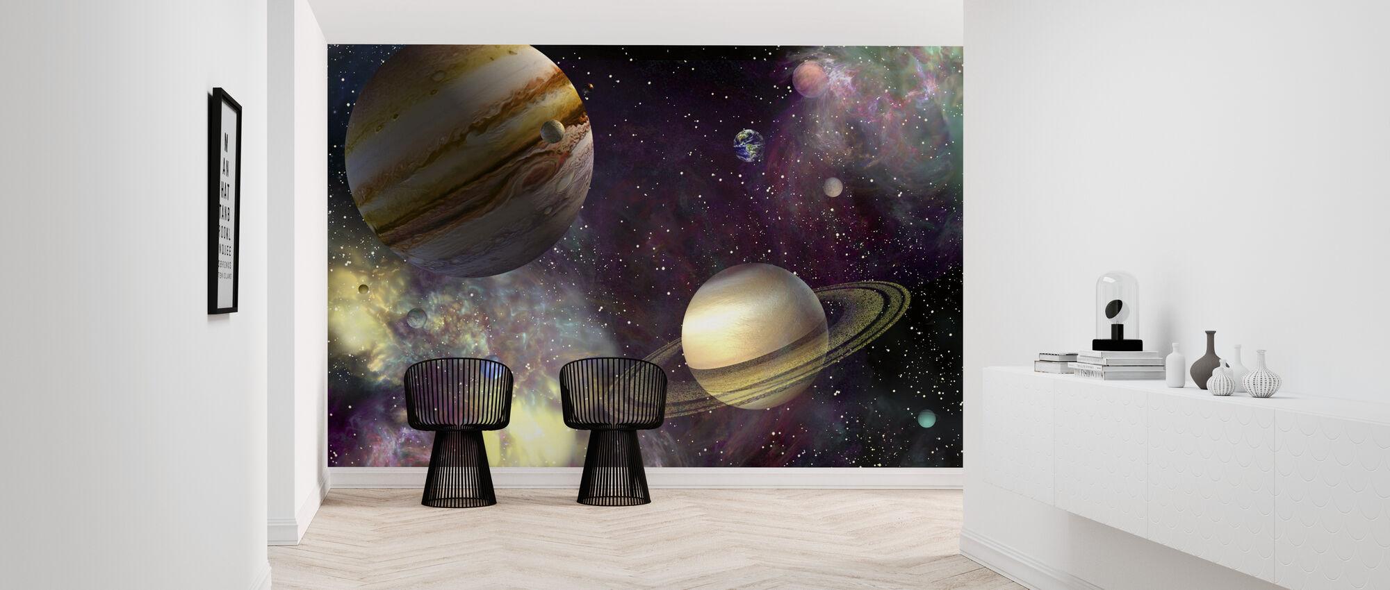 Our Solar System - Wallpaper - Hallway