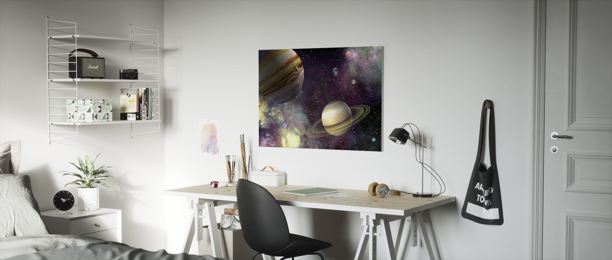 Our Solar System - Canvas print - Kids Room