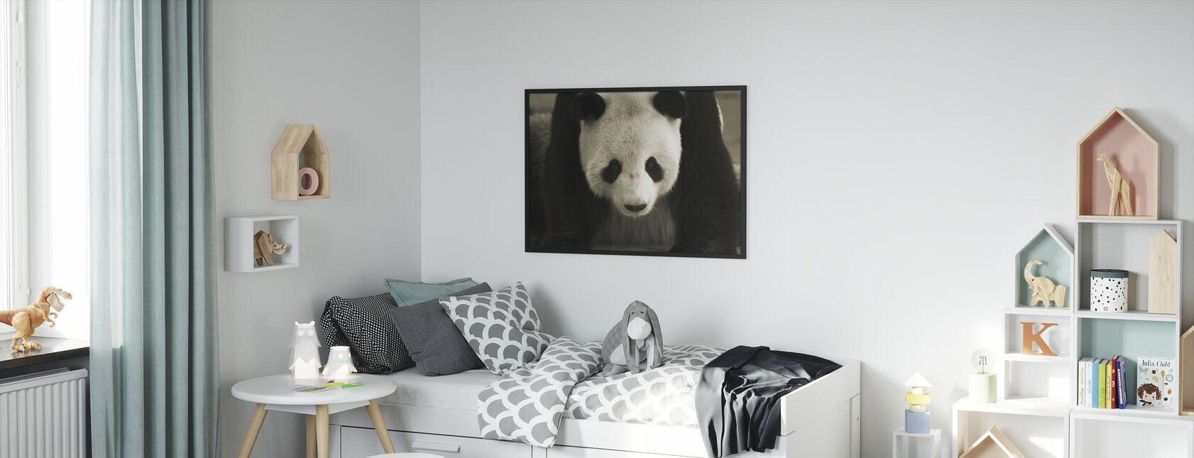 Giant Panda - Framed print - Kids Room