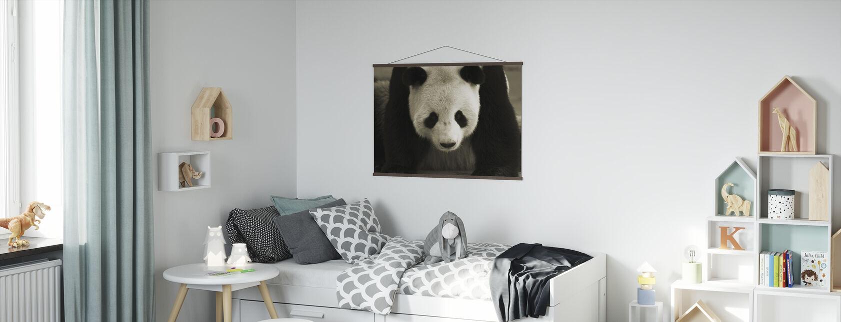 Giant Panda - Poster - Kids Room