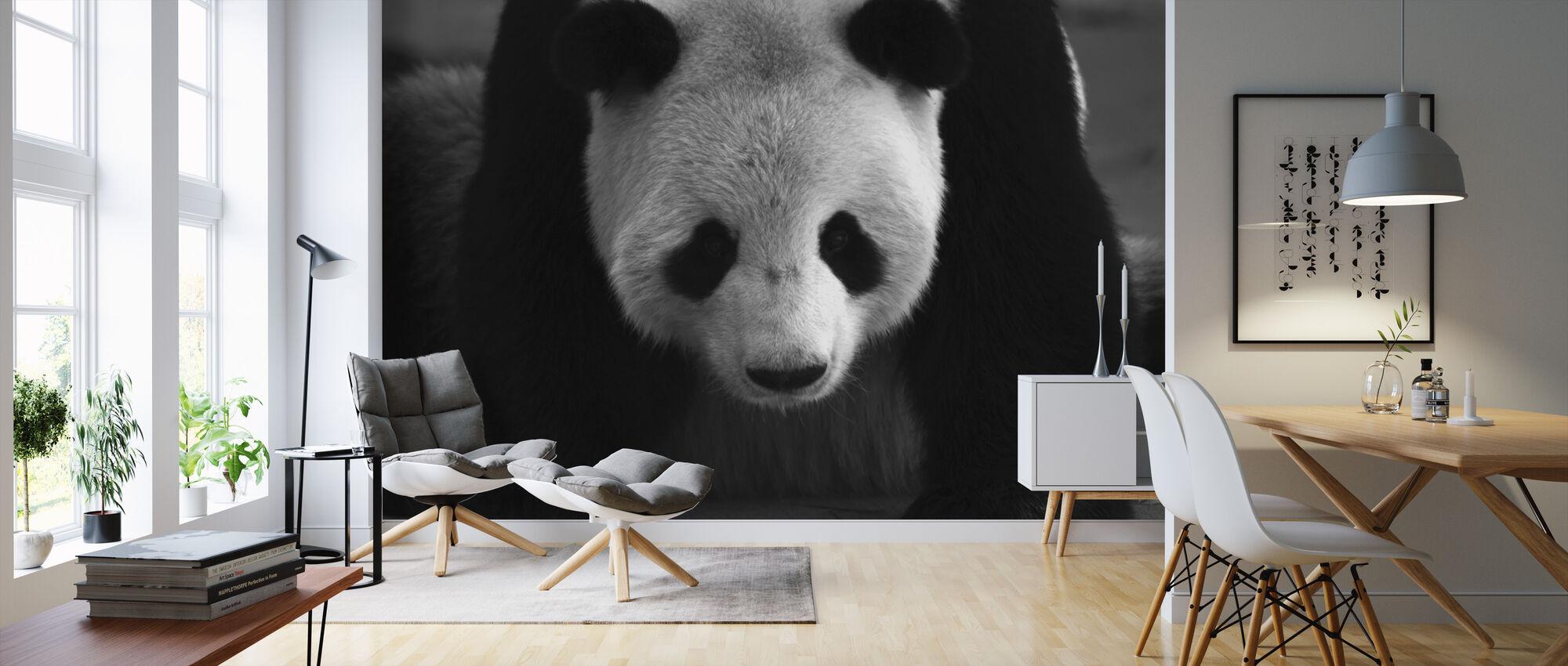 Giganten panda - Tapet - Stue