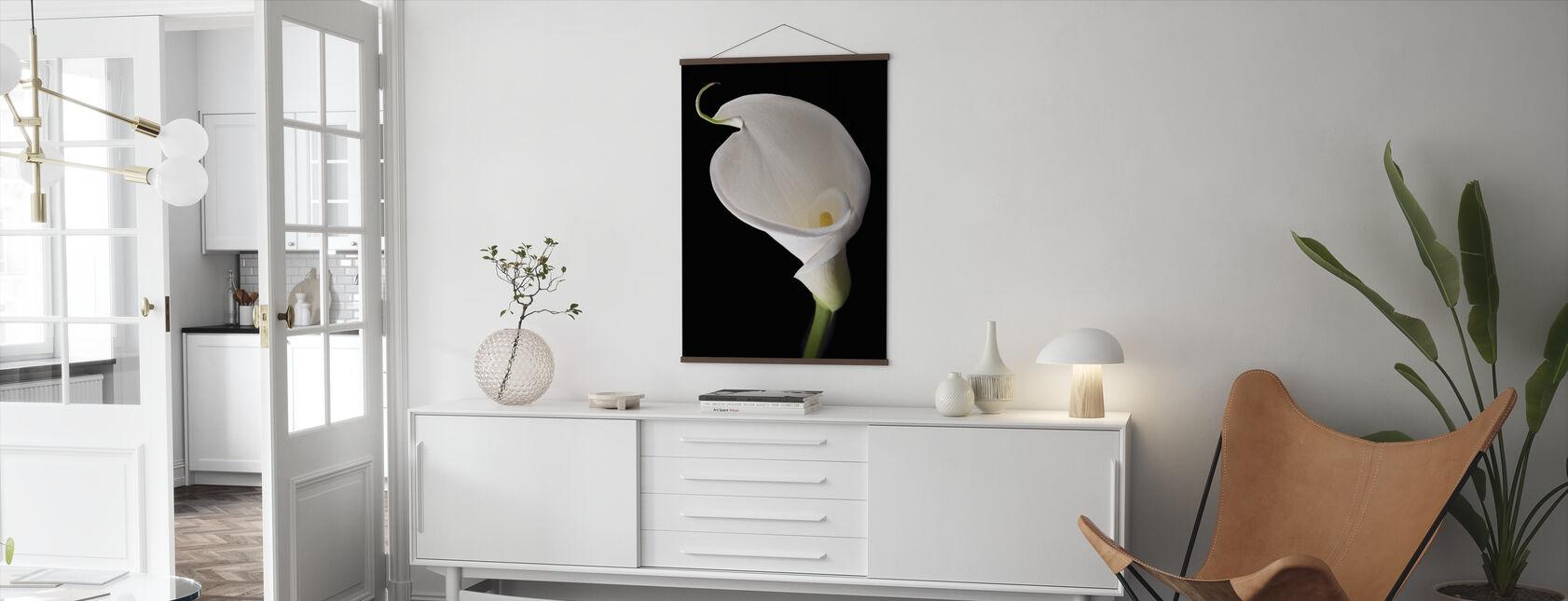 White Calla - Poster - Living Room