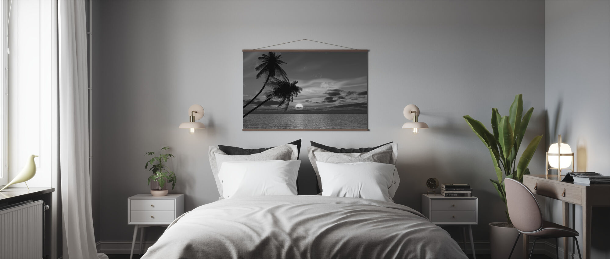Coconut Palm Sun - Poster - Bedroom