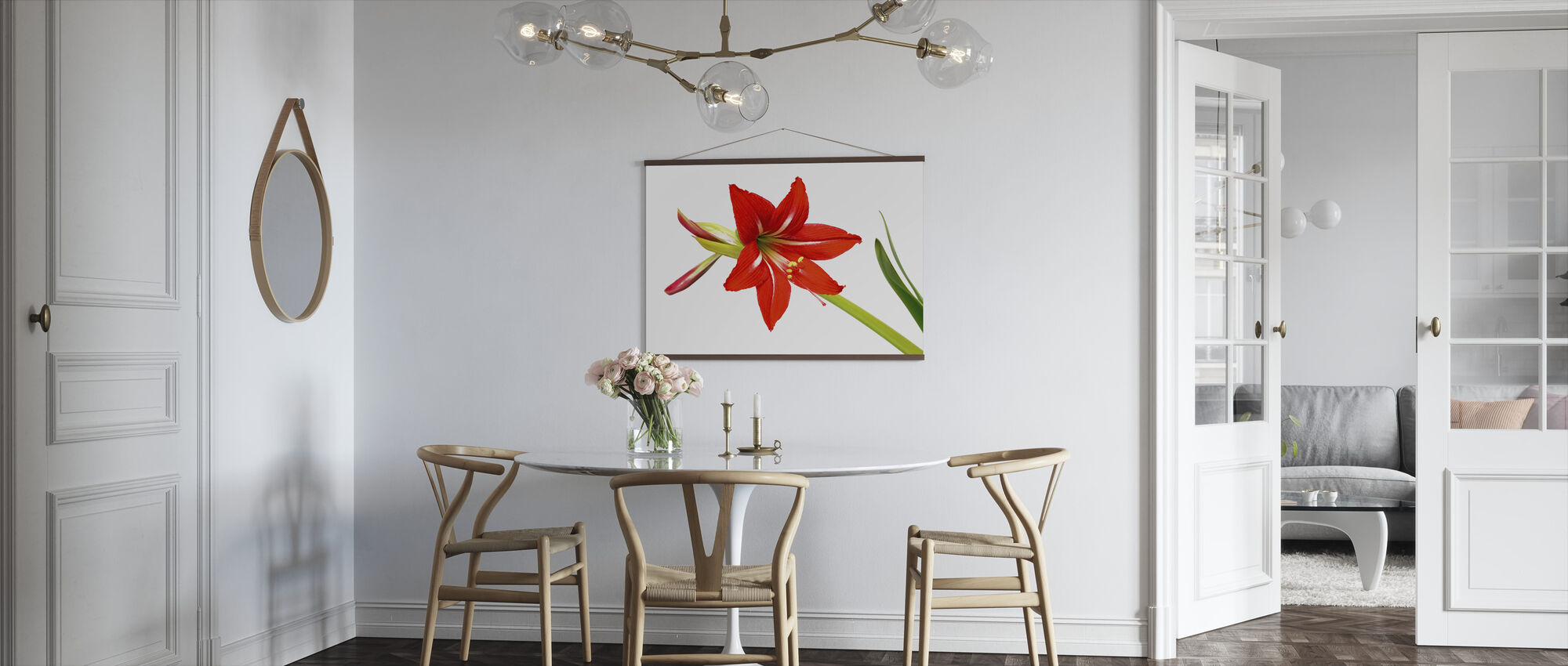Red Lily - Poster - Kitchen