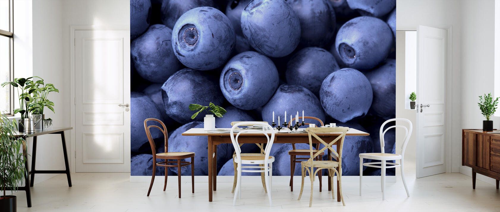 blueberries fototapete nach ma photowall. Black Bedroom Furniture Sets. Home Design Ideas