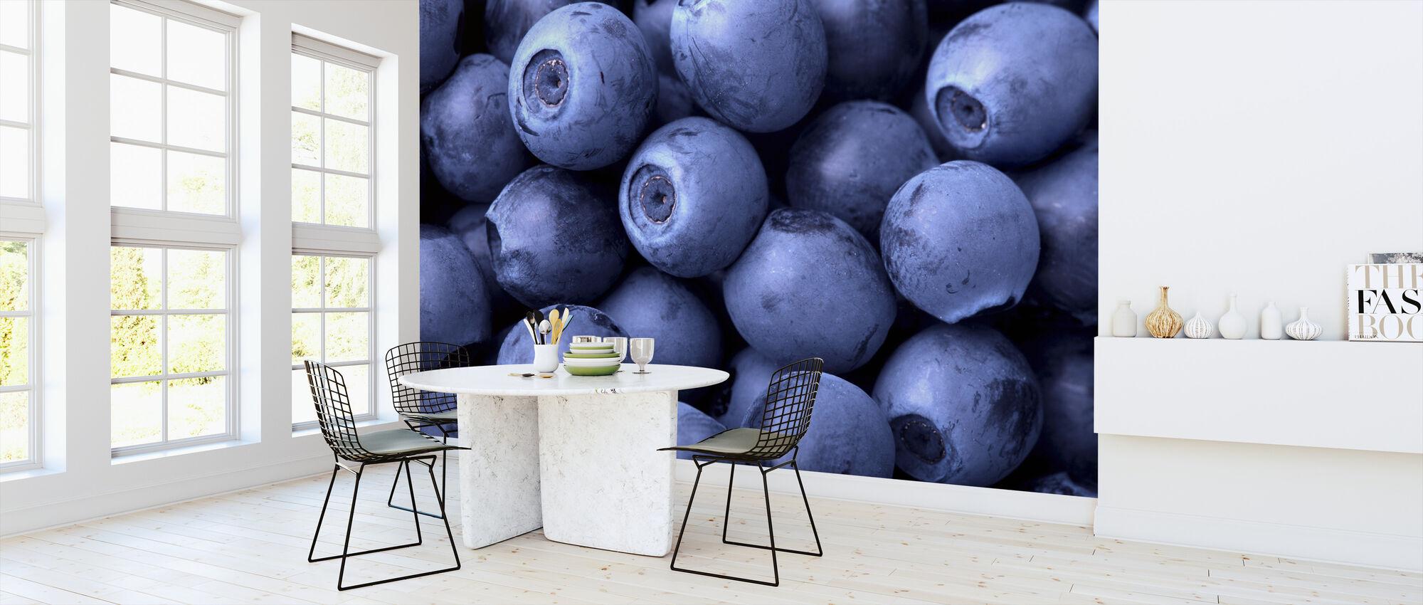 Blåbær - Tapet - Kjøkken