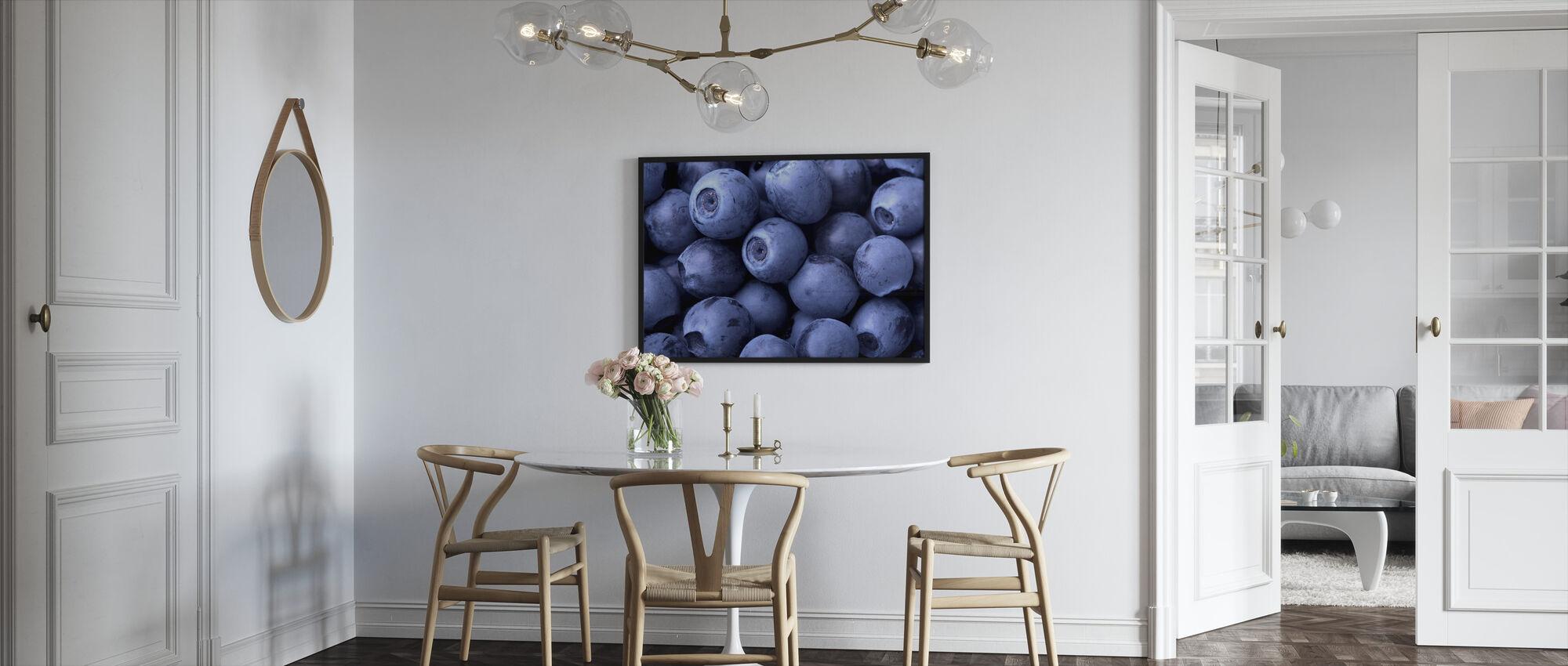 Blueberries - Framed print - Kitchen