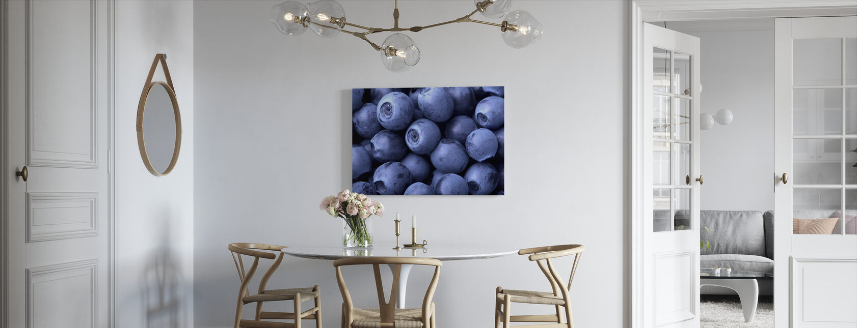 Blueberries - Canvas print - Kitchen