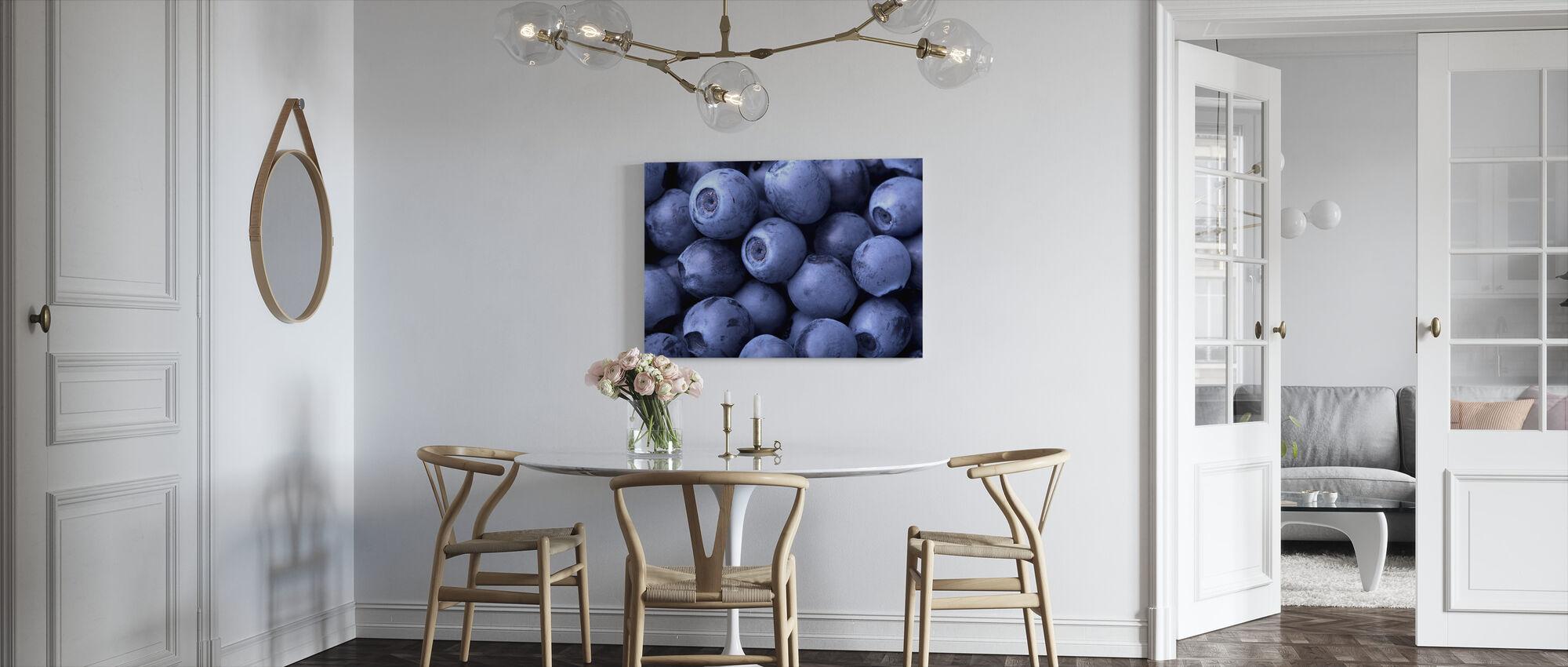 Blueberries - Canvas print - Kitchen