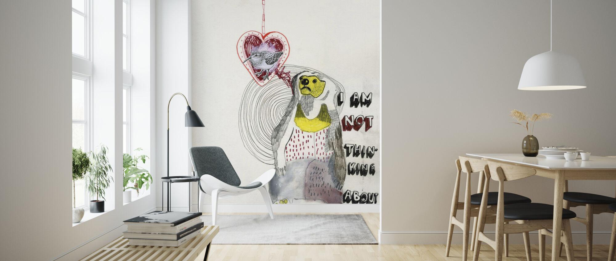 Bear - Wallpaper - Living Room