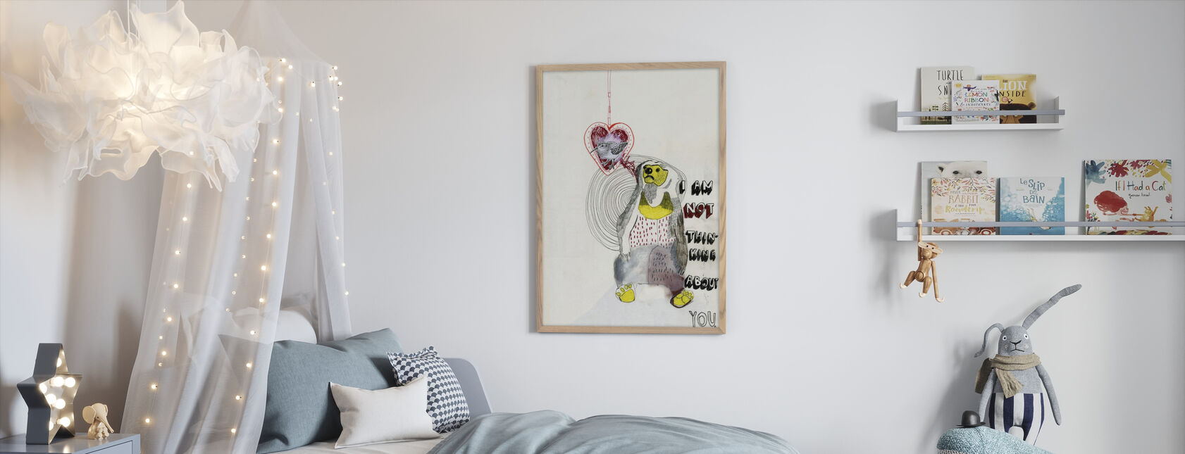 Bear - Framed print - Kids Room