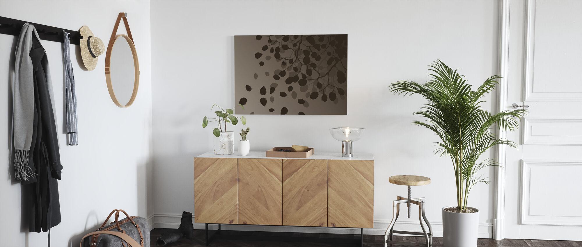 Birch - Fall - Canvas print - Hallway